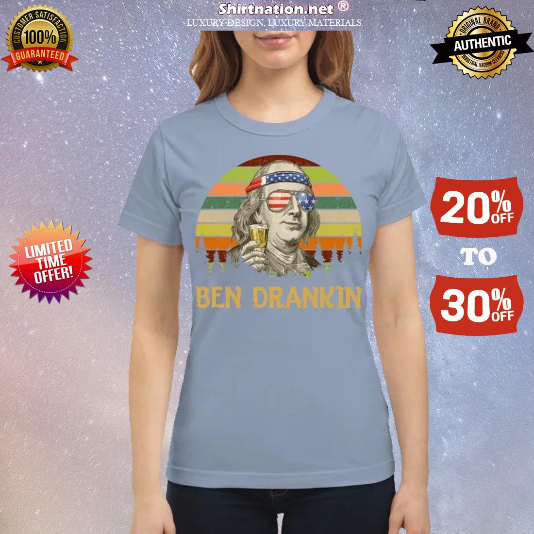Ben Drankin classic shirt
