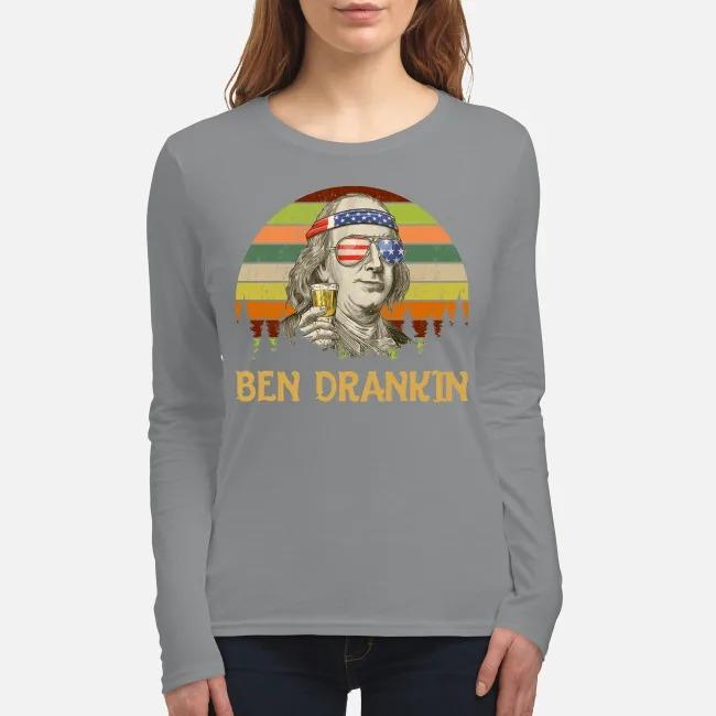 Ben Drankin women's long sleeved shirt