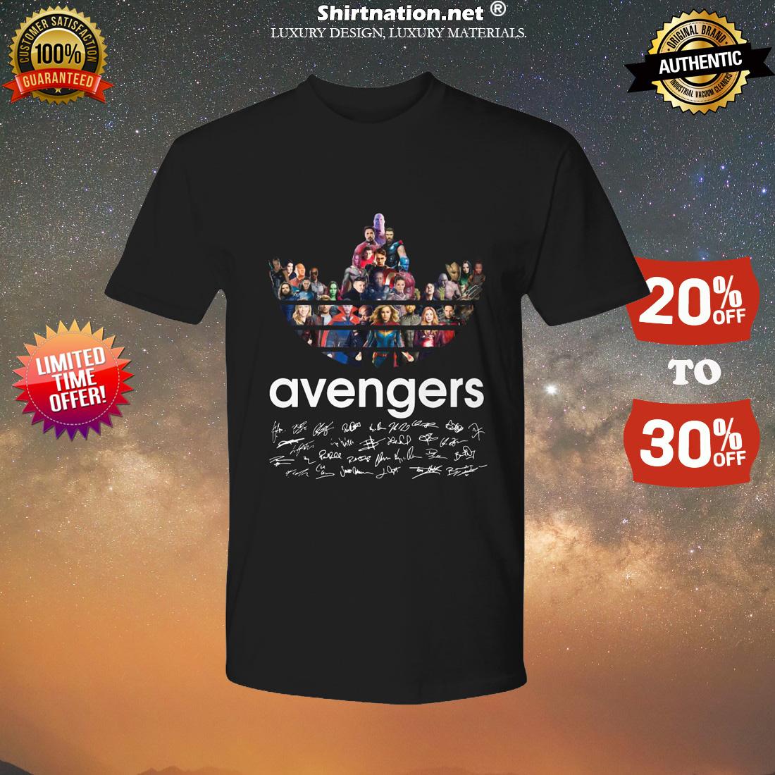 Adidas Avengers Signatures shirt