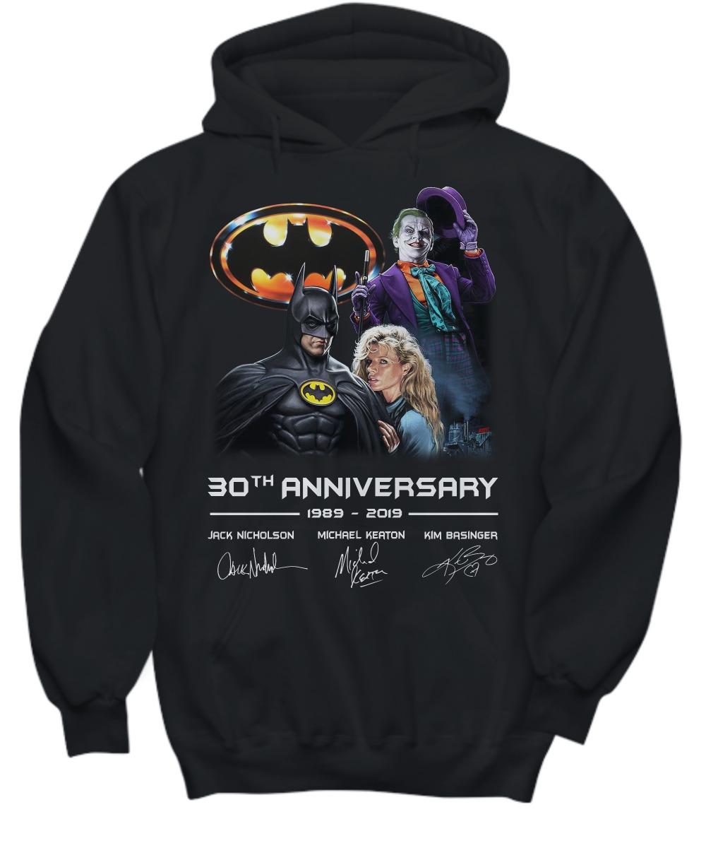 Batman 30th Anniversary 1989 2019 shirt and hoodie