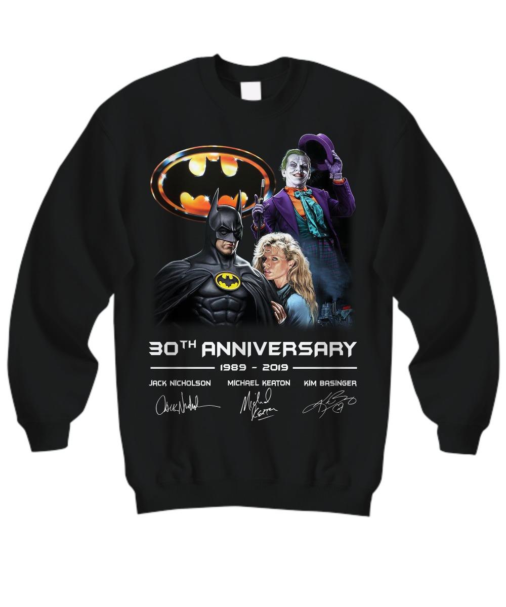 Batman 30th Anniversary 1989 2019 sweatshirt