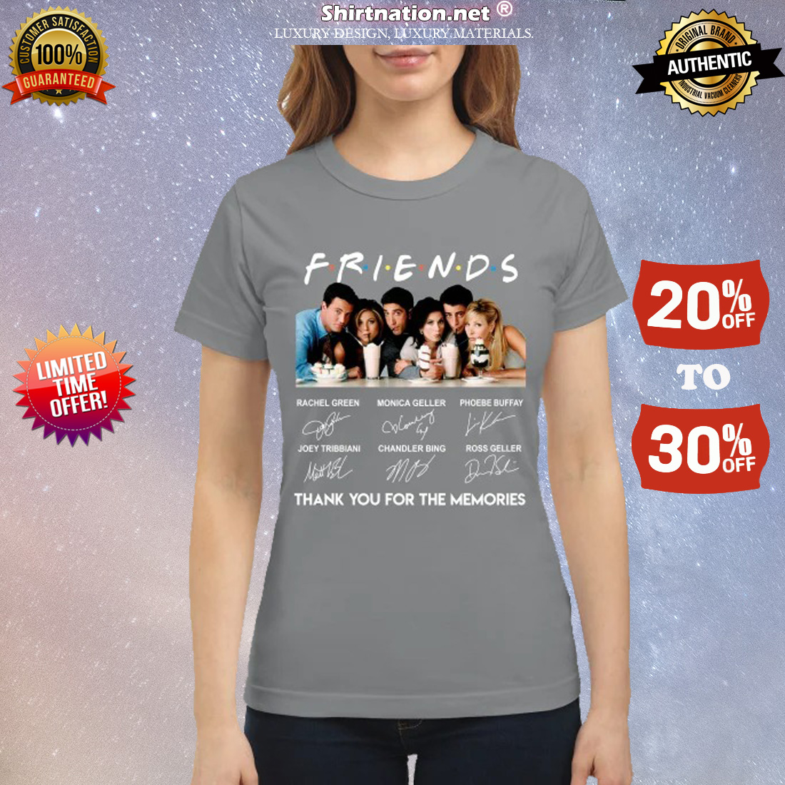 Friend movie thank you for the memories classic shirt