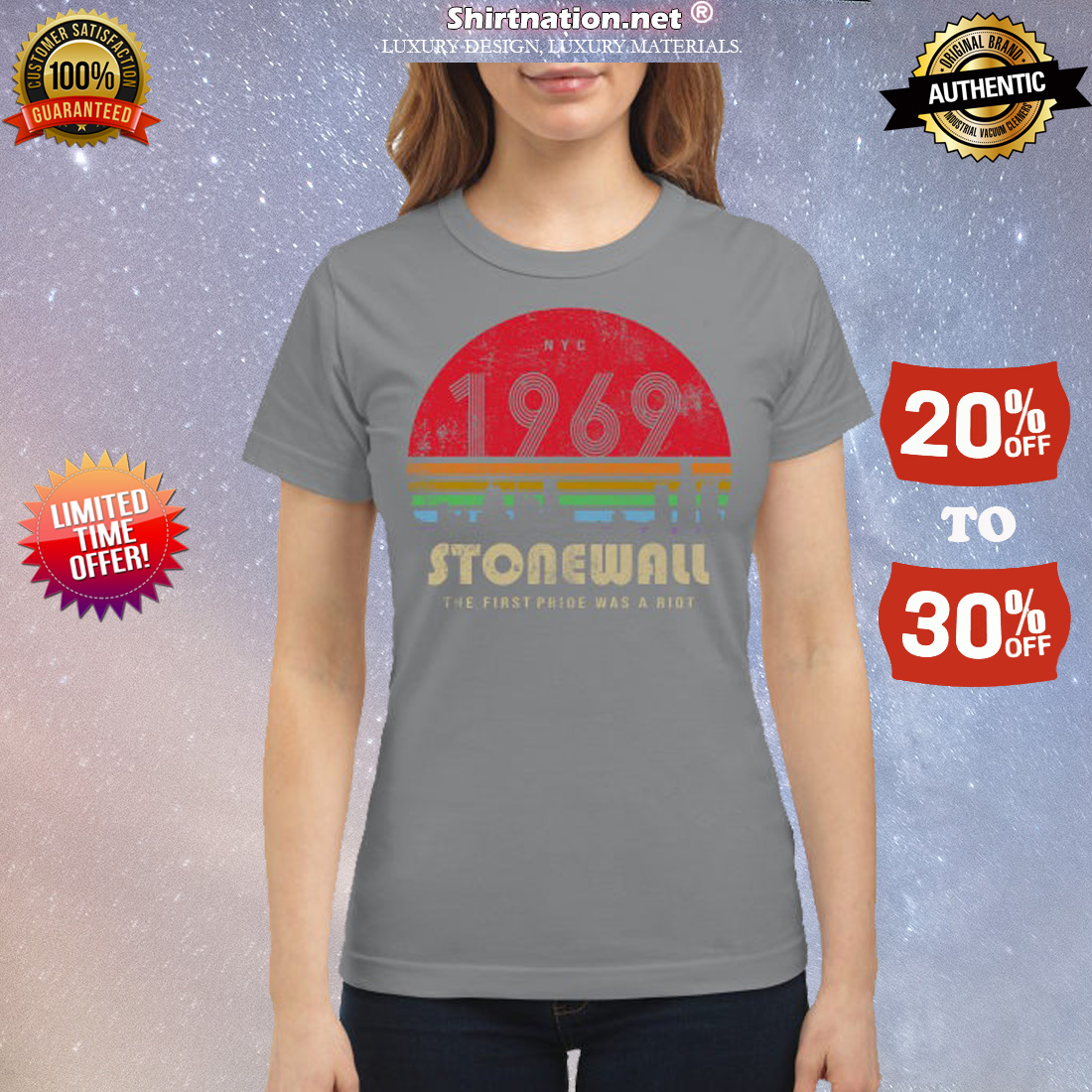 NYC 1969 Stonewall the first pride was a Riot classic shirt