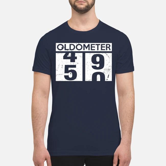 Oldometer 49 50 premium men's shirt