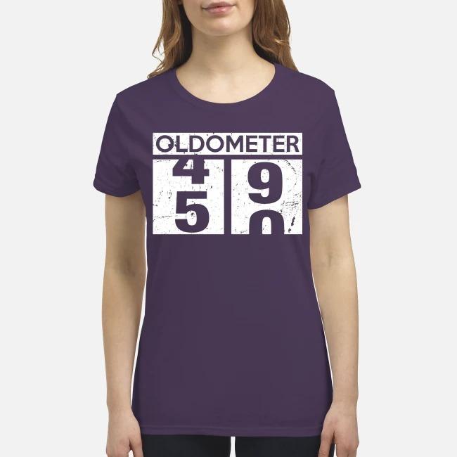 Oldometer 49 50 premium women's shirt