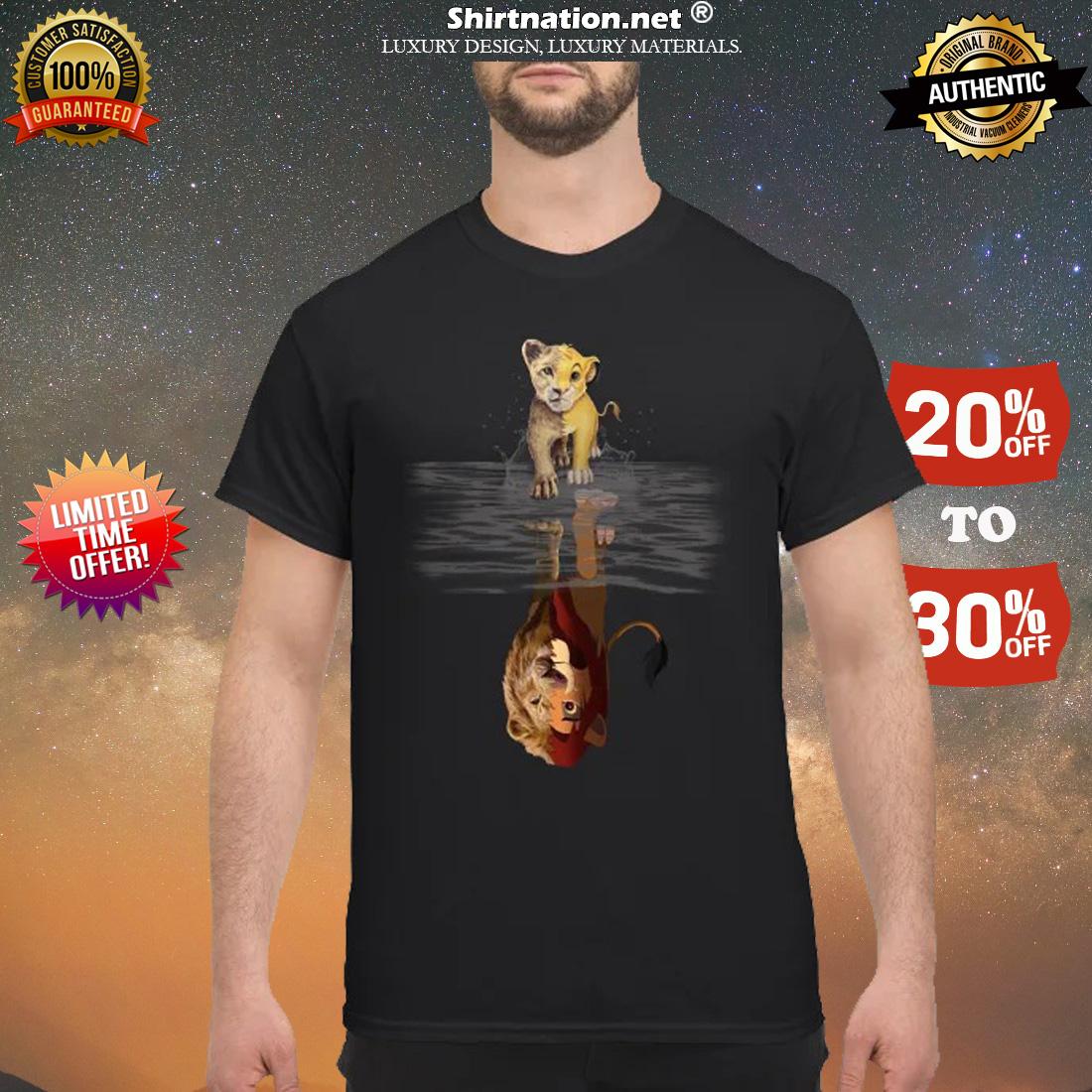 Samba and mufasa shirt