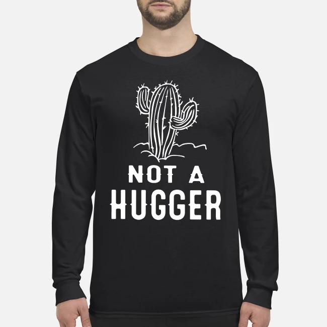 Skull not a hugger men's long sleeved shirt