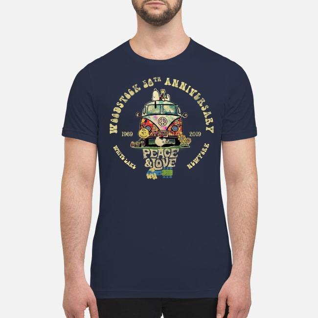 Woodstock 50th anniversary 1969 2019 premium men's shirt