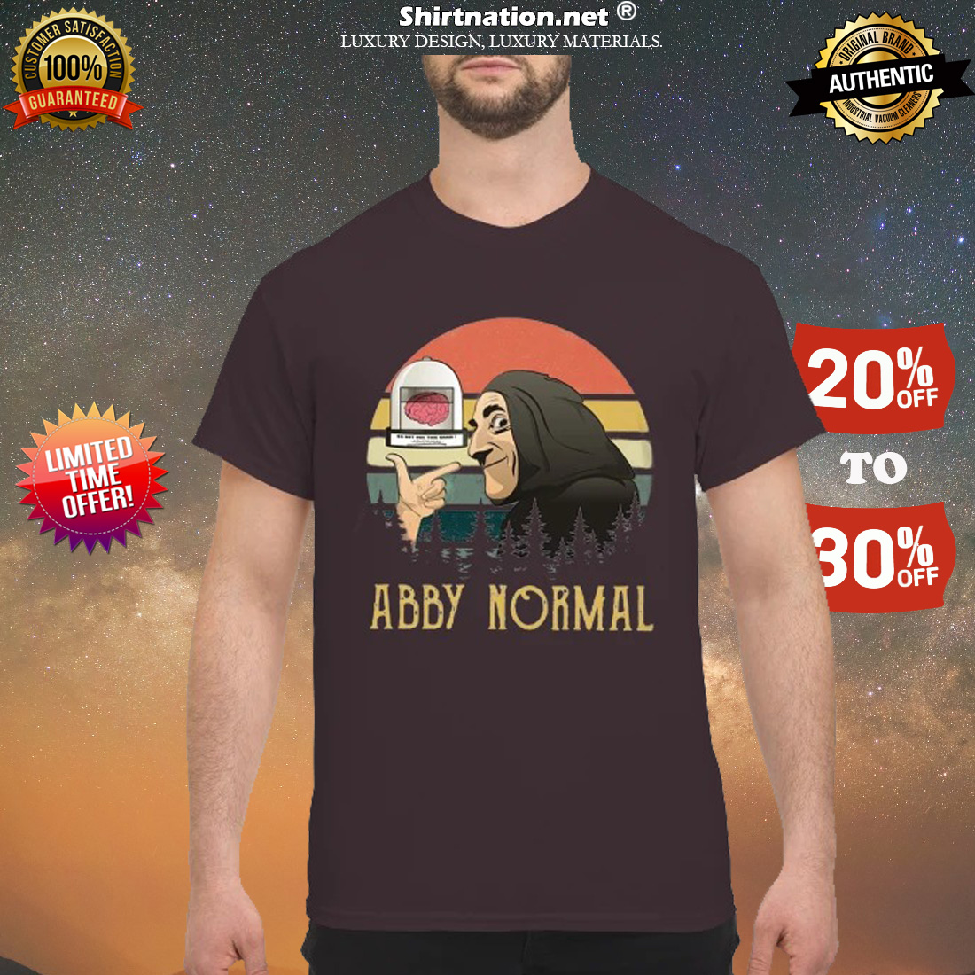 Young Frankenstein abby normal shirt