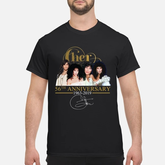 Cher 56th anniversary classic shirt