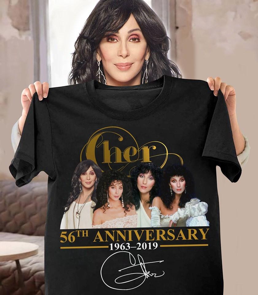 Cher 56th anniversary shirt