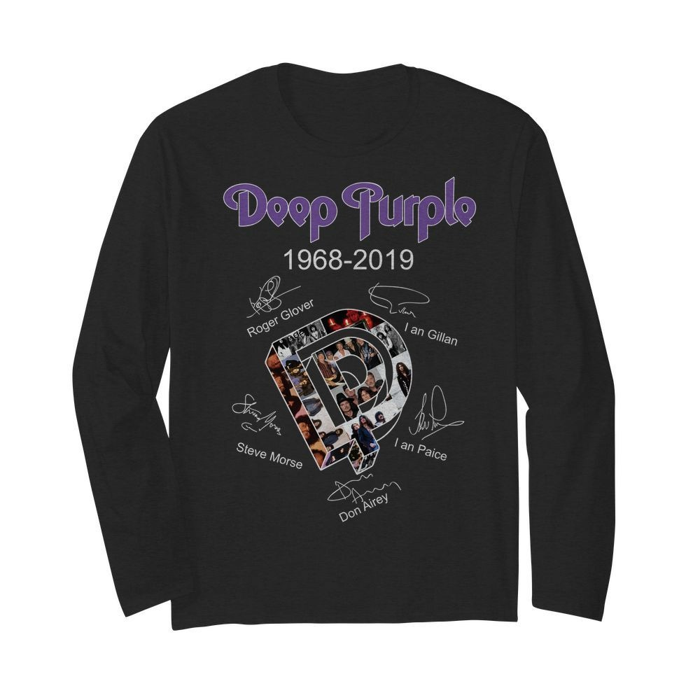Deep purple Roger Glover 1968 2019 long sleeved shirt