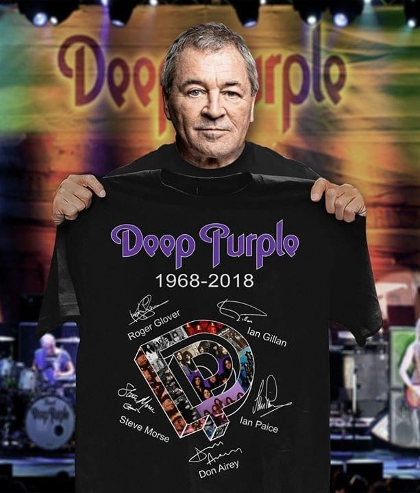Deep purple Roger Glover 1968 2019 shirt