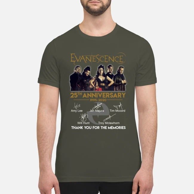 Evanescence 25th anniversary premium men's shirt