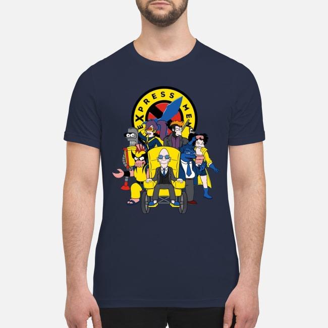 Futarama X-men Express men premium men's shirt
