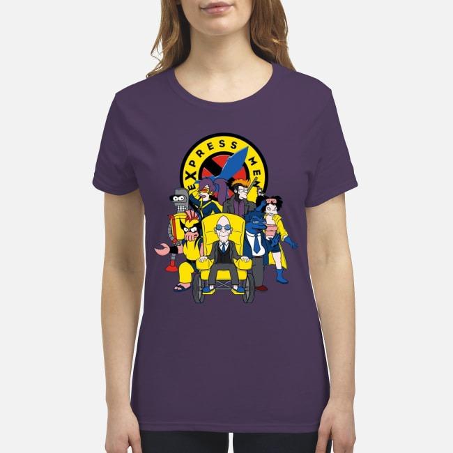 Futarama X-men Express men premium women's shirt