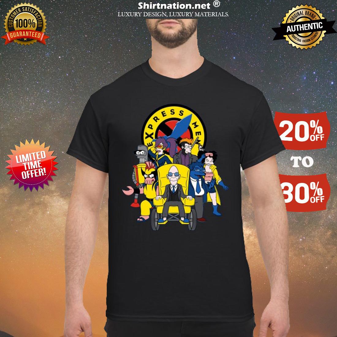 Futarama X-men Express men shirt