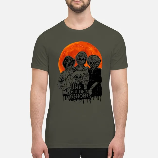 Halloween the golden ghoust premium men's shirt