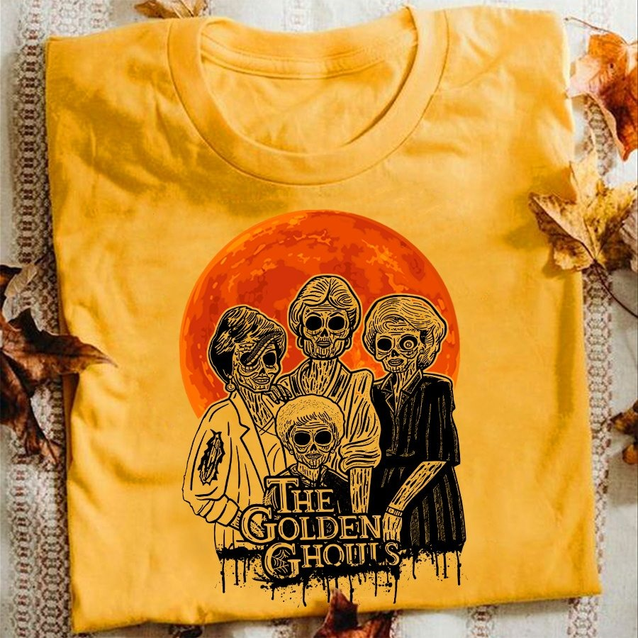 Halloween the golden ghoust shirt