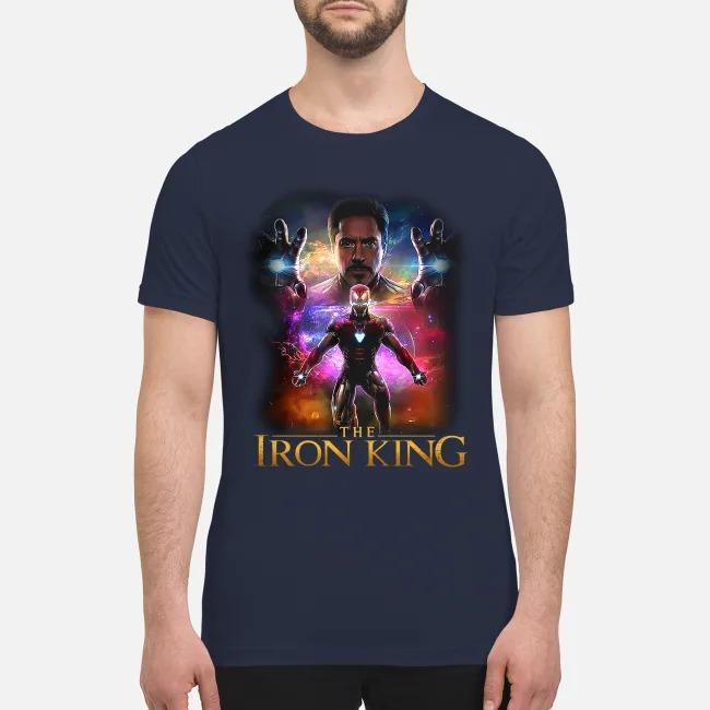 Iron man the iron king premium men's shirt