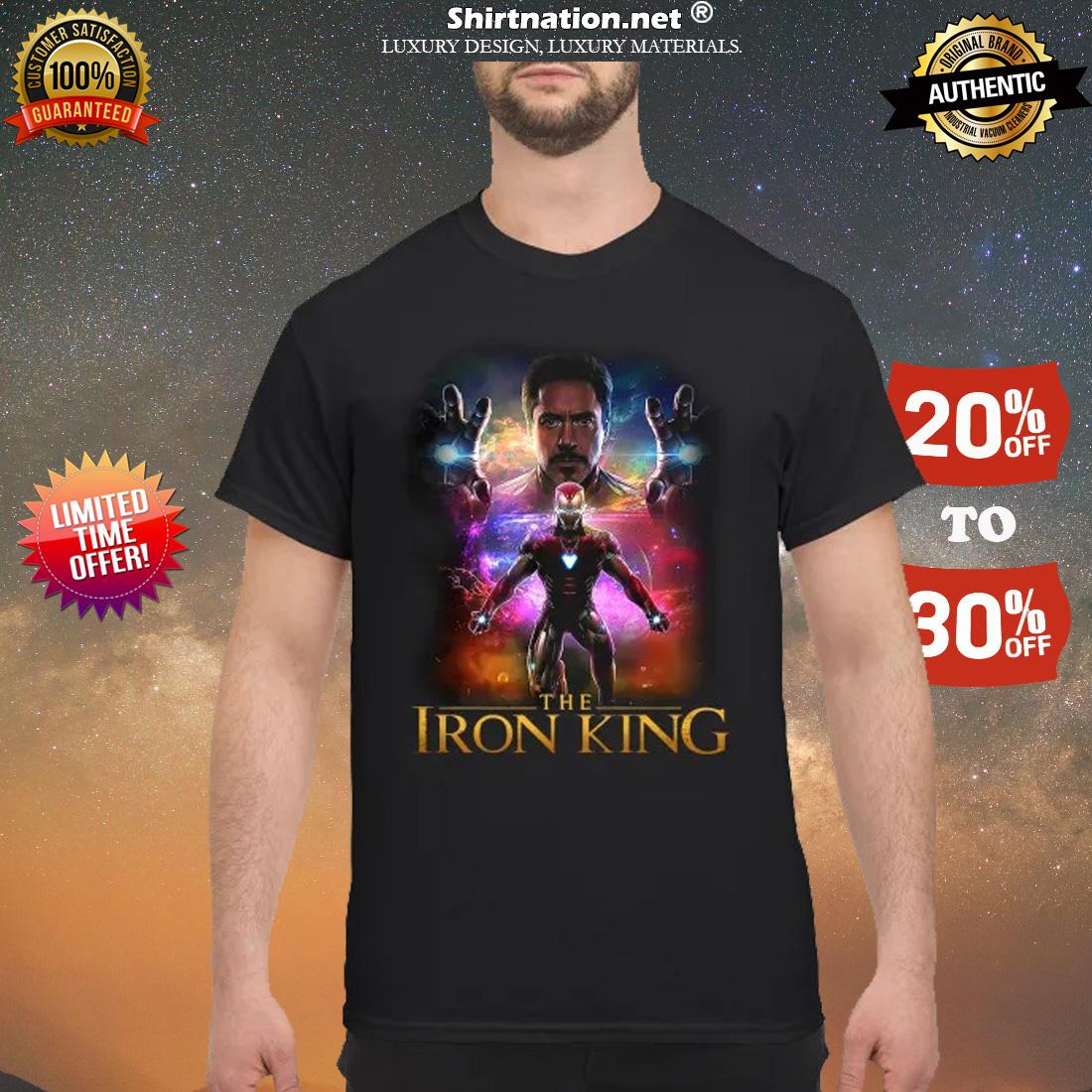 Iron man the iron king shirt