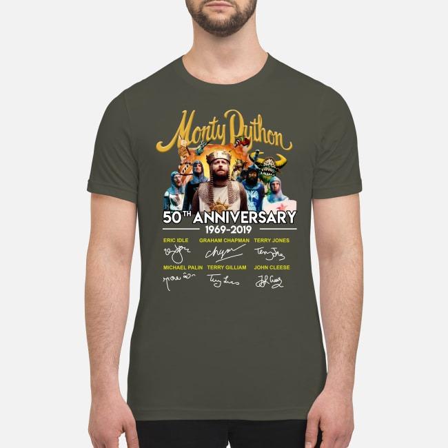 Monty Dython 50th anniversary premium men's shirt