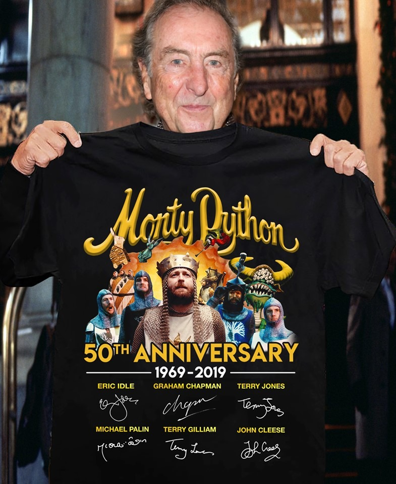 Monty Dython 50th anniversary shirt