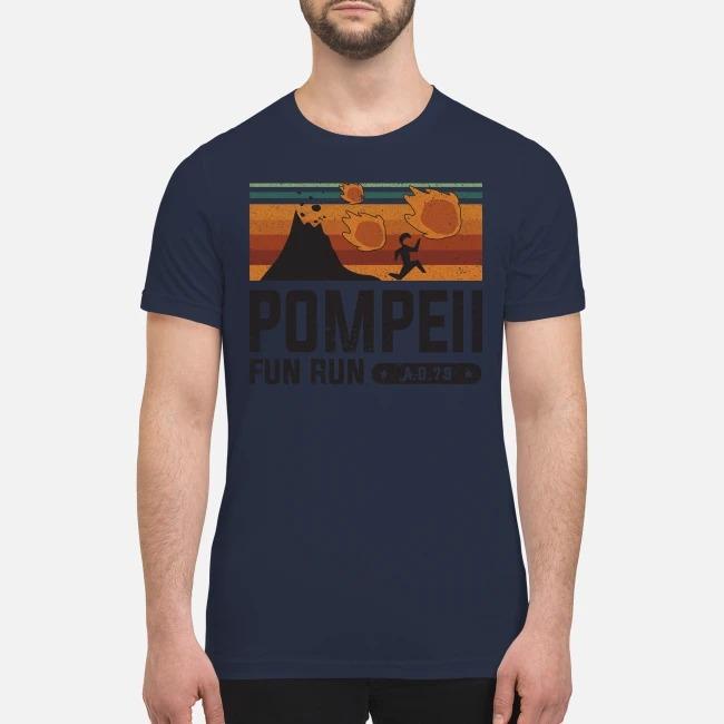 Pompell fun run AD 79 premium men's shirt