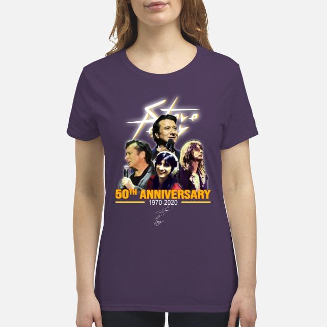 Steve 50th anniversary 1970 2020 premium women's shirt