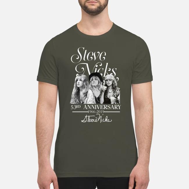 Steve Nicks 53rd anniversary premium men's shirt