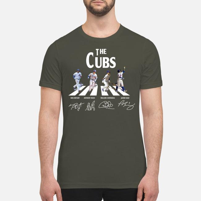 The Cubs abbey road premium men's shirt