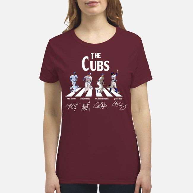 The Cubs abbey road premium women's shirt