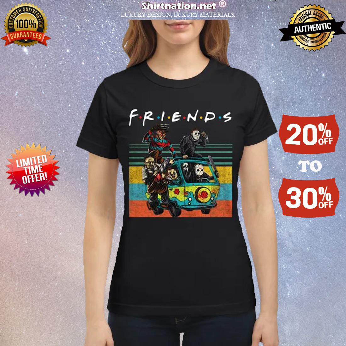 The Masscre machine friends classic shirt