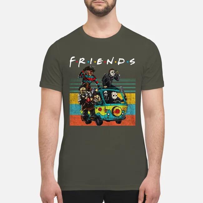 The Masscre machine friends premium men's shirt