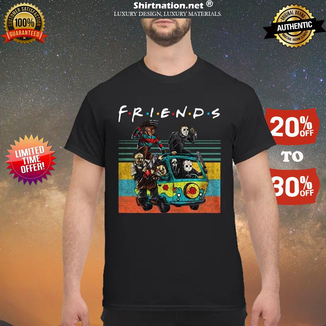 The Masscre machine friends shirt