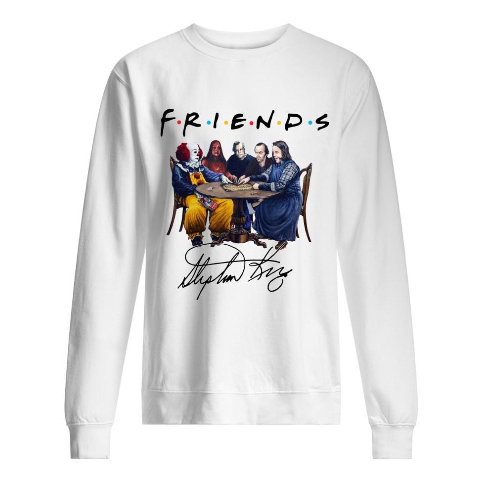 Friends Stephen king horror movies sweatshirt