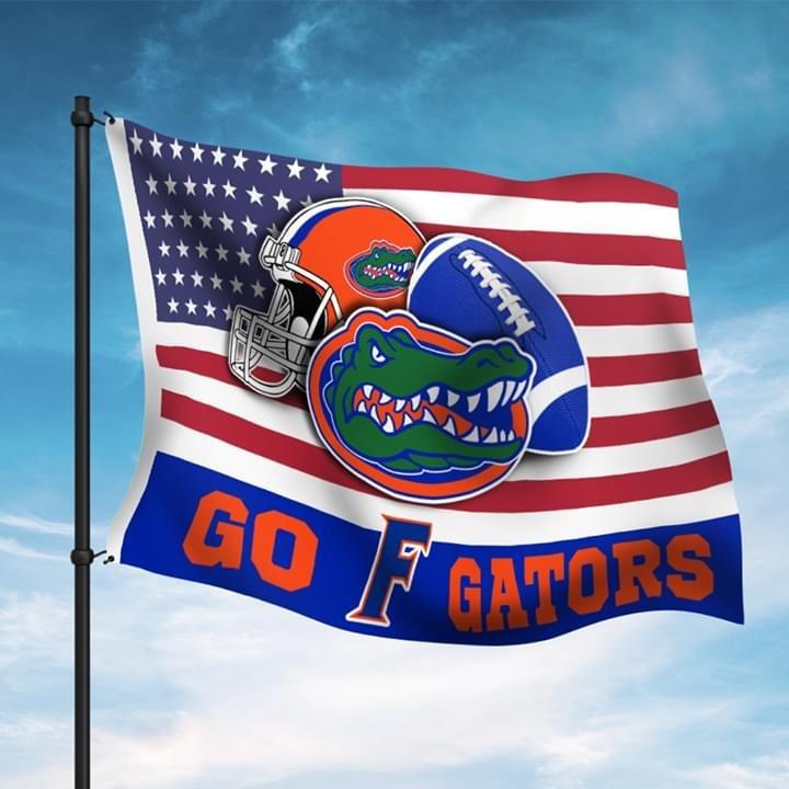 Go F Gators American flag