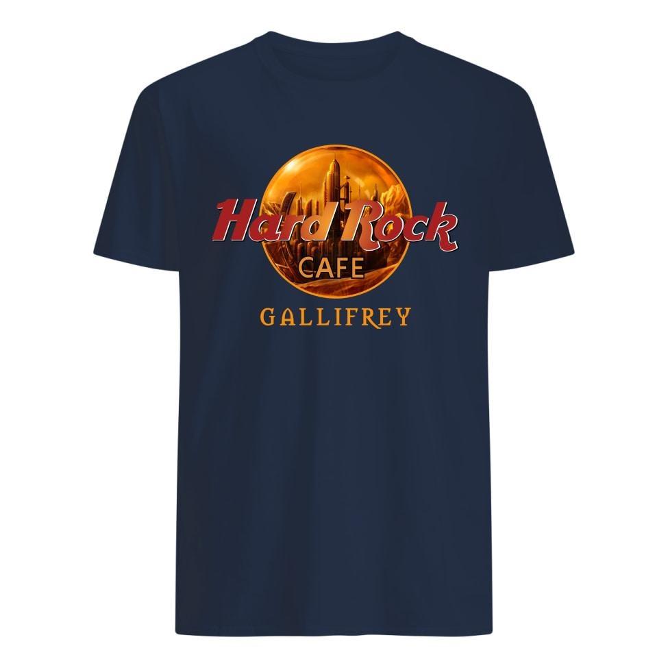 Hard Rock Coffee Gallifrey classic shirt