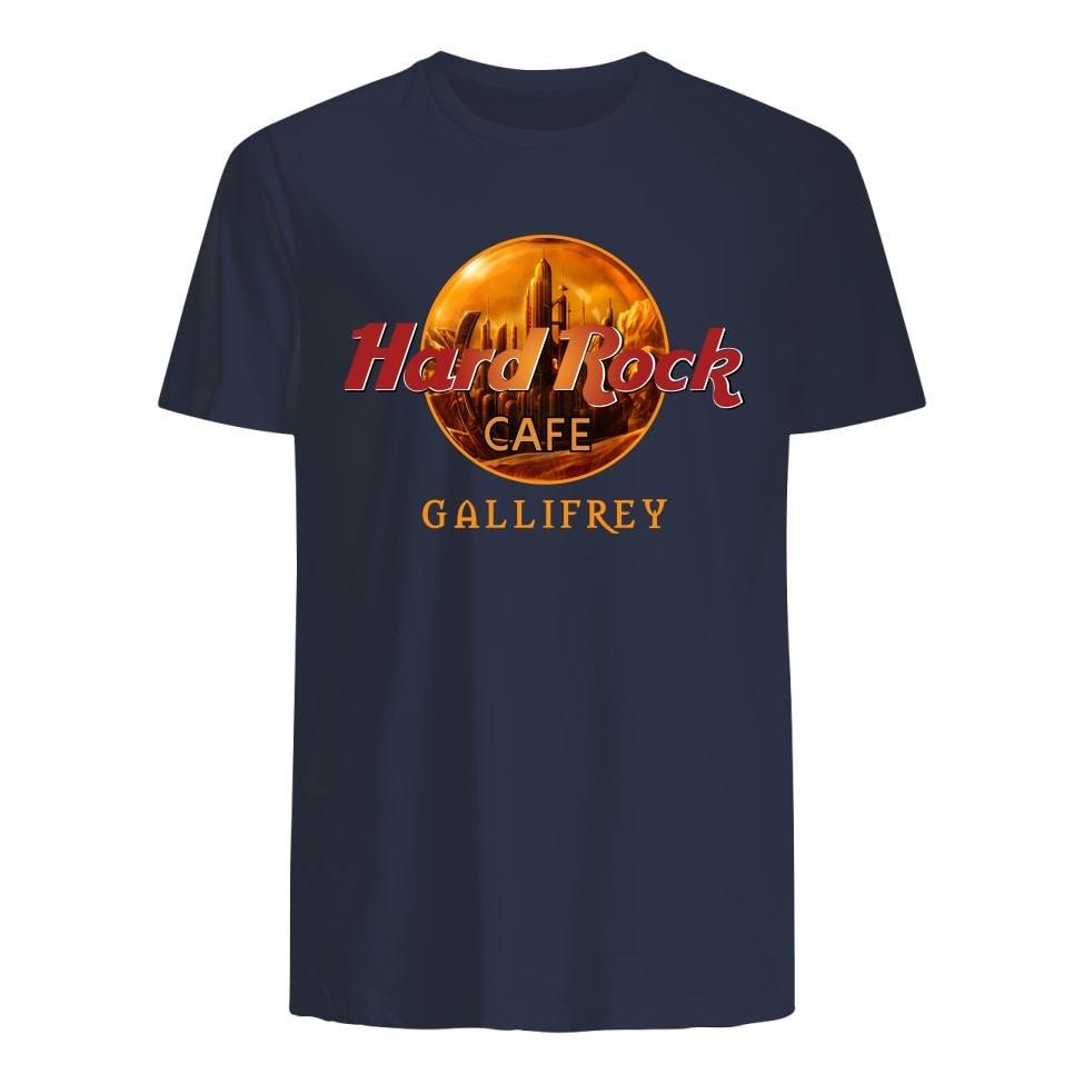 Hard Rock Coffee Gallifrey premium shirt