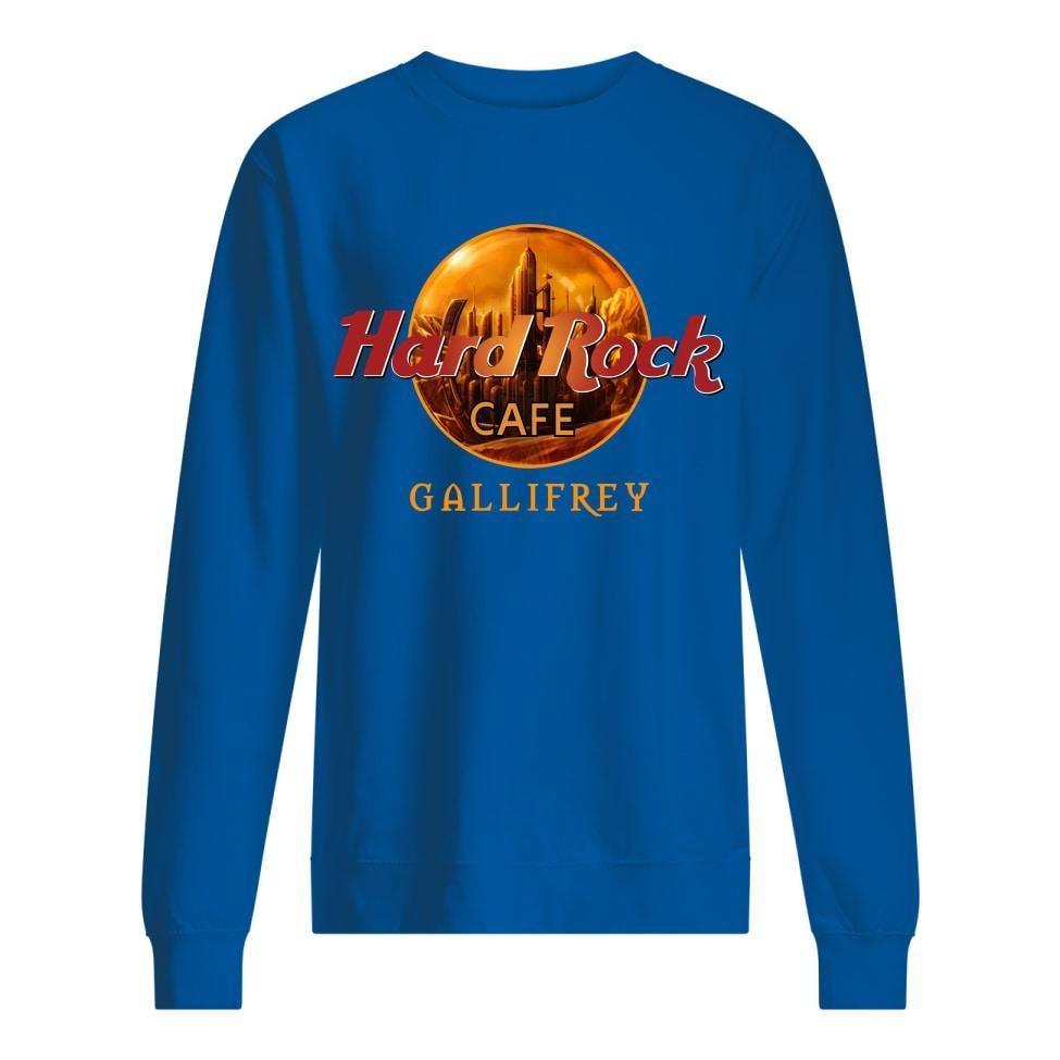 Hard Rock Coffee Gallifrey sweatshirt