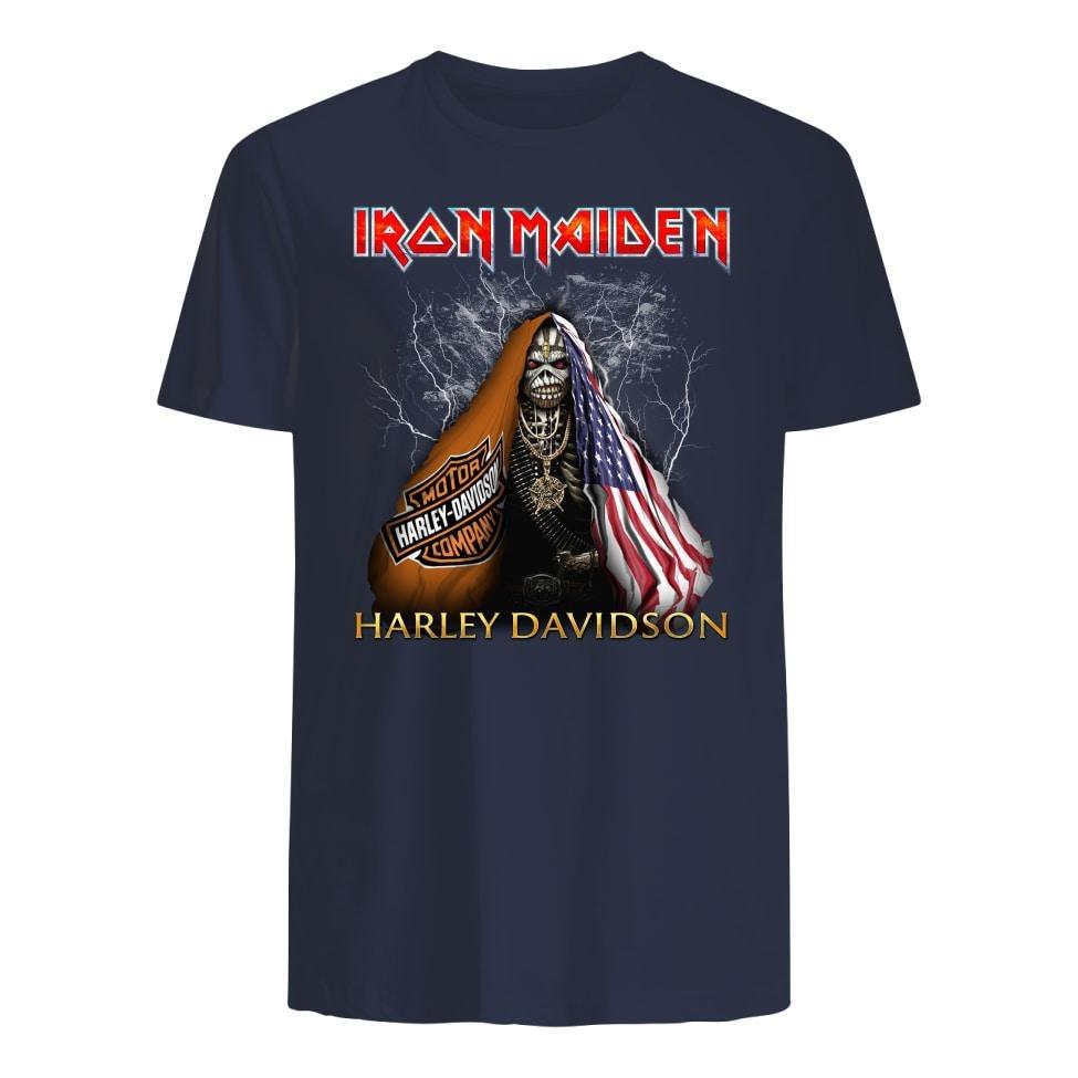 Iron Maiden Harley Davidson premium shirt