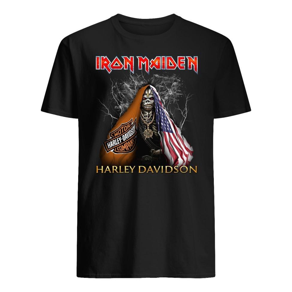Iron Maiden Harley Davidson shirt