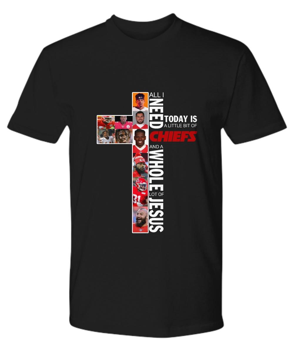 Kansas city Chiefs and Jesus premium shirt