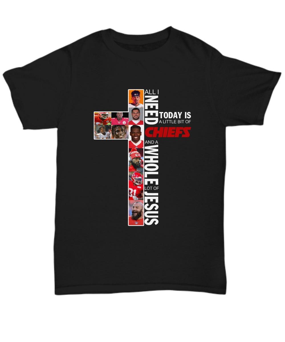 Kansas city Chiefs and Jesus shirt