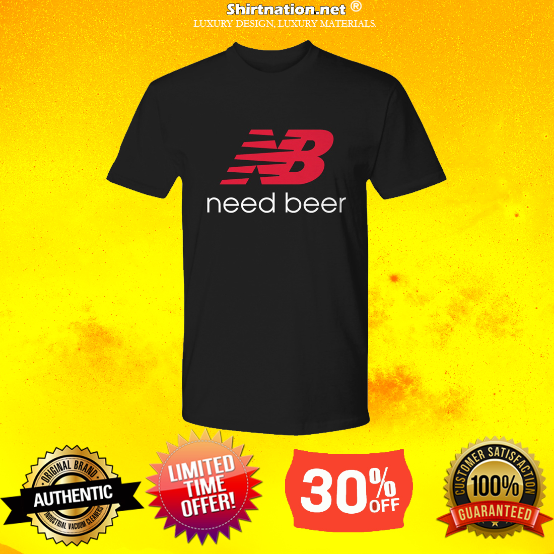 New balance need beer premium shirt