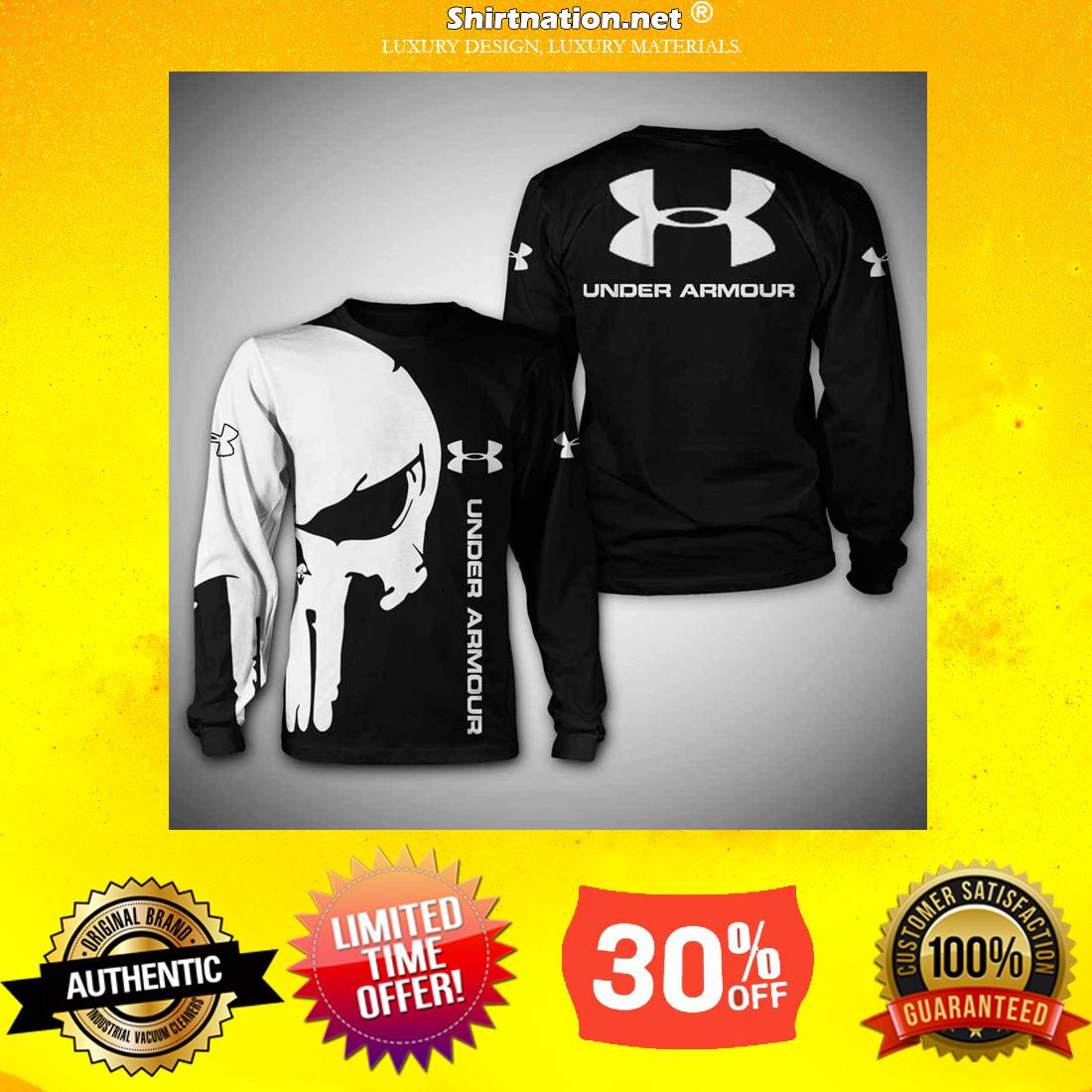 Punisher Skull Under Armour 3d shirt and sweatshirt