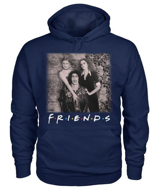 Rocky horror movie friends shirt and hoodie