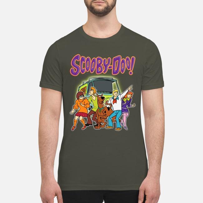 Scooby doo and the mystery machine premium men's shirt