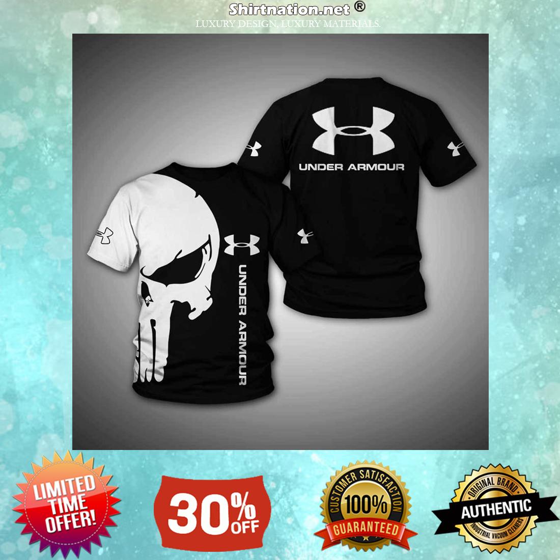 Skull Under Armour 3d shirt