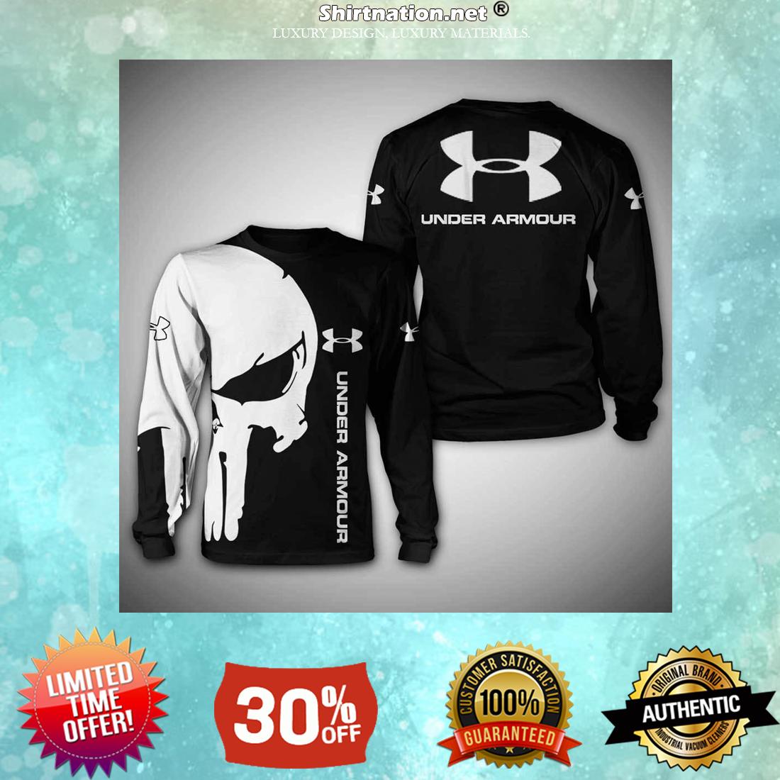 Skull Under Armour 3d sweatshirt